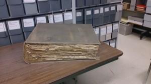 Large scrap book