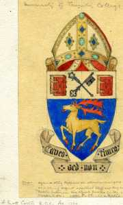 Alexander Scott Carter designed Coat of Arms