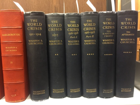 Image of World Crisis Set spines