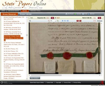 State Papers Online Browse