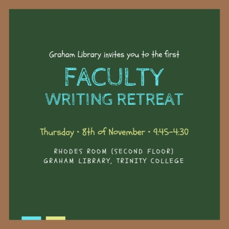 faculty writing retreat