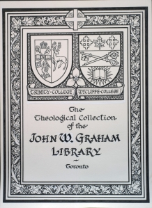 Trinity-Wycliffe bookplate