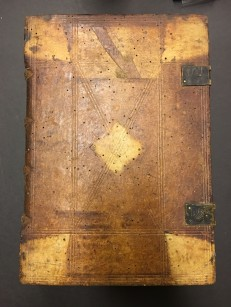 Board binding Sermones parati de tempore et de Sanctis