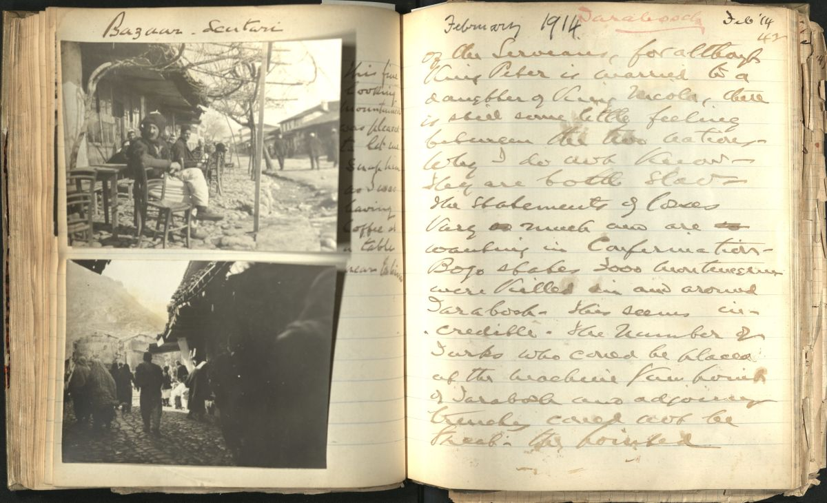 Images from diaries