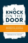 Cover image of A knock on the Door; blue text on white background
